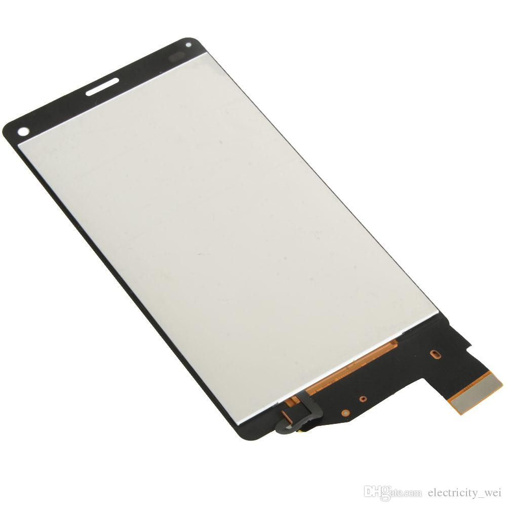 New Hot Sales Touch Screen Digitizer Lcd Display For Sony Xperia Z3 D5803 D5833 Mini Compact Original Black Free
