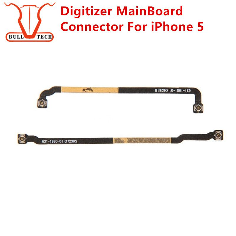 For Apple iPhone 5 Motherboard Flex Charger Port Main Board Flex Cable Home Button Motherboard Long Main Antenna Signal Extended Connector