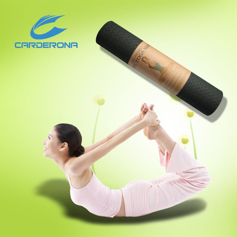High Density Gym Fitness Training Durable Exercise TPE Yoga Mat