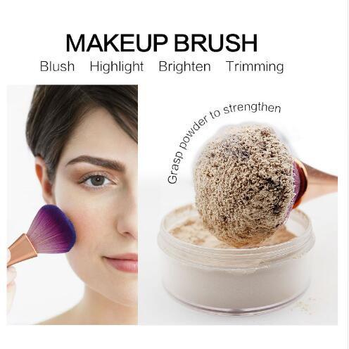 Makeup Brush Professional Loose Powder Brush 2017 Hot Sale Highlighter Blusher Unicorn Make Up Tool Beauty Cosmetic