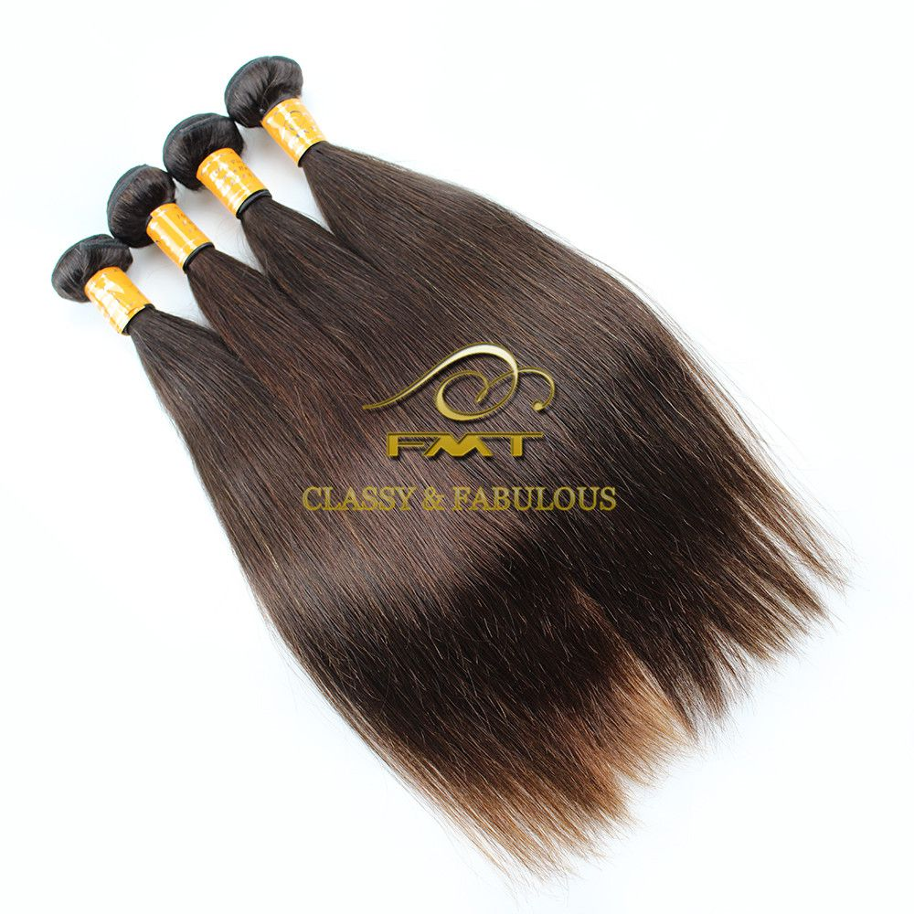 Fmt Newest Wholesale Deep Weft Hair Extension8a Remy Raw Peruvian