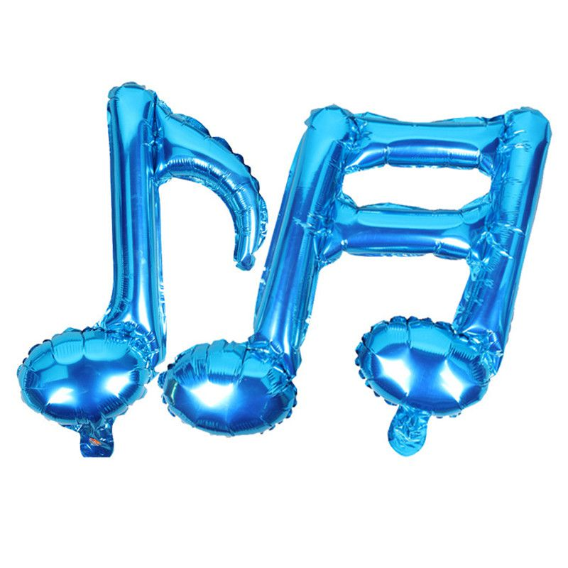 Notes Balloon Single Double Notes confetti transparent balloons Wedding Party Celebrating Baby Shower Birthday decorations party
