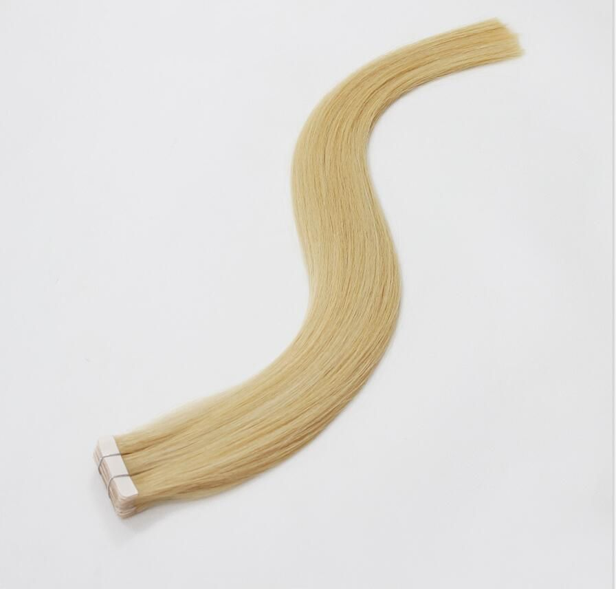 VIYA Tape In Human Hair Extensions 100% Remy Hair Brazilian Straight Hair 50g 20pcs/Set Skin Weft WY0921B