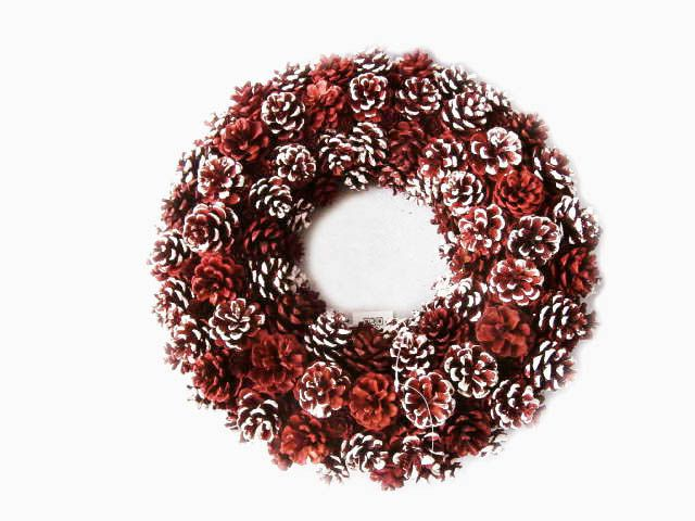 Alldeco Pinecone Wreath