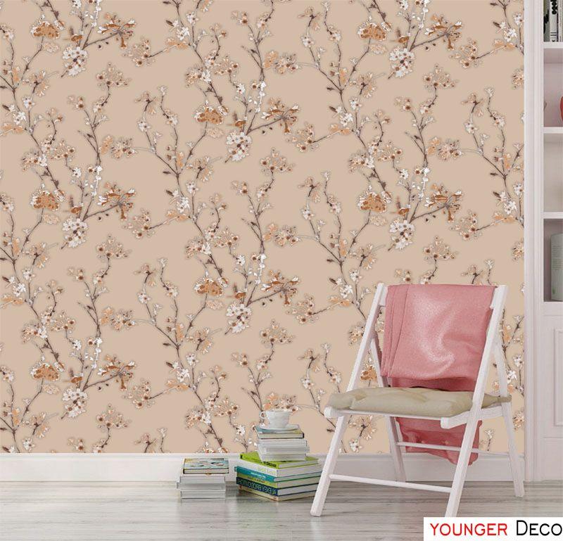 Fashion Floral Wallpaper For Home Decoration 3d Wallpaper Modern