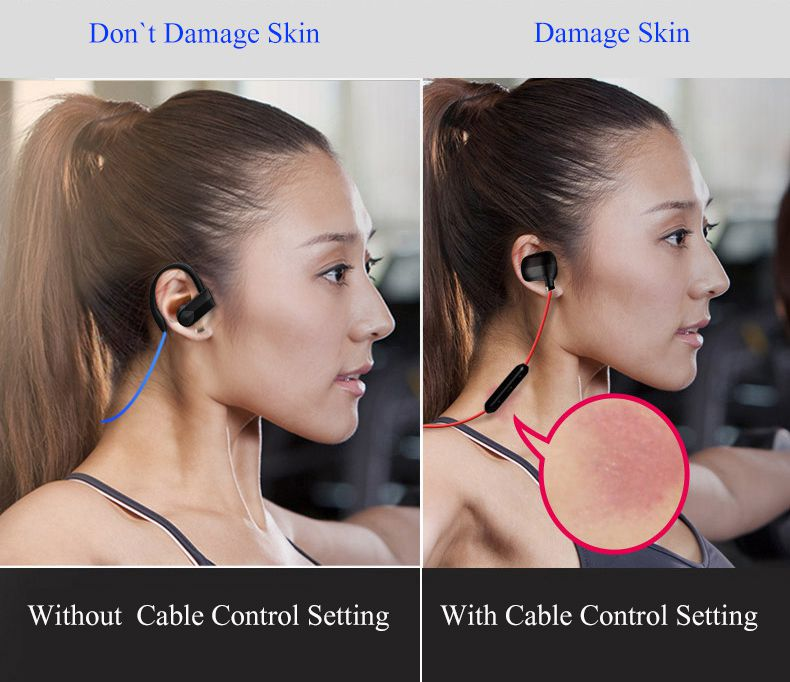 Bluetooth Headphone,Sports Bluetooth Headset Noise Cancel Wireless Earphone With Microphone Stereo Handfree Bluedio Sweatproof In Ear Earbud