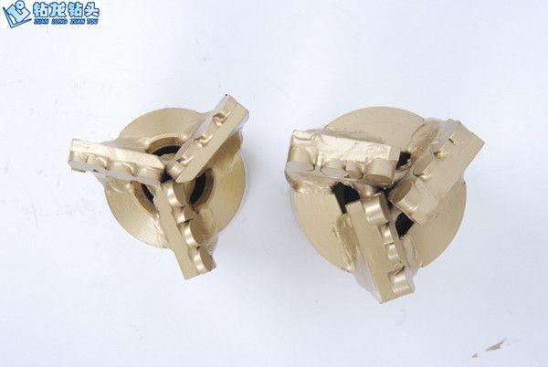 Scrap pdc drag drill bits / diamond cut drill bits/pdc rock drill bits for clay sand water well drilling