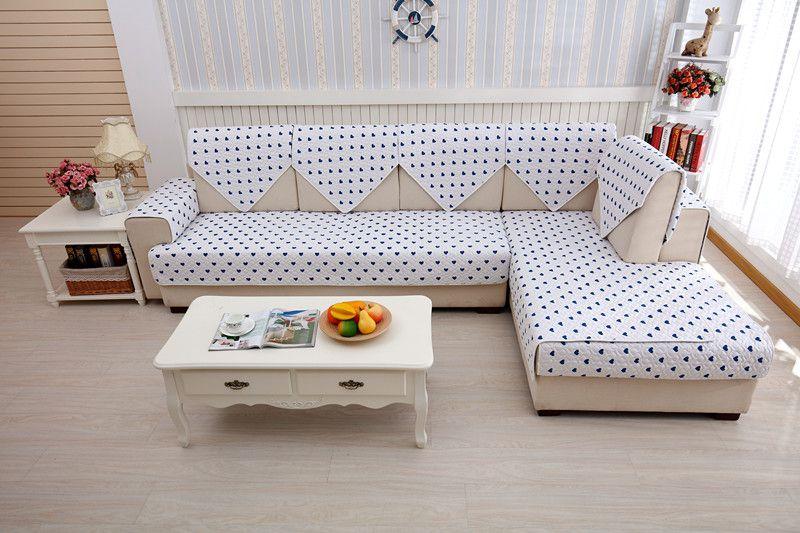 2018 hot sale retor blue and white porcelain double faced 100% cotton four seasons of combination sofa cushion set