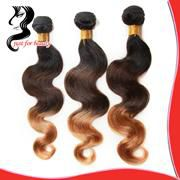 Hair Products 3Pcs Lot Brazilian Virgin Hair Weaves Loose Wave 100% Unprocessed Human Hair Extensions Weft Free Shipping