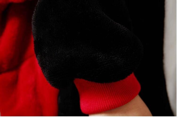 Bat Pajama Kids Animal Cosplay Costume Children Onesie Flannel Warm Long Sleeve Homewear Winter Lovely Sleepwear For Boys Girls KD-004
