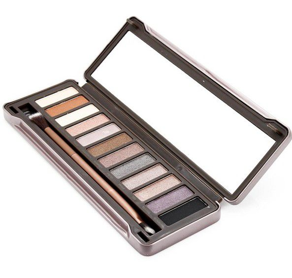 HOT new Makeup Eye Shadow NUDE 12 color eyeshadow palette 15.6g High quality NUDE 1.2.3. DHL Free shipping+GIFT