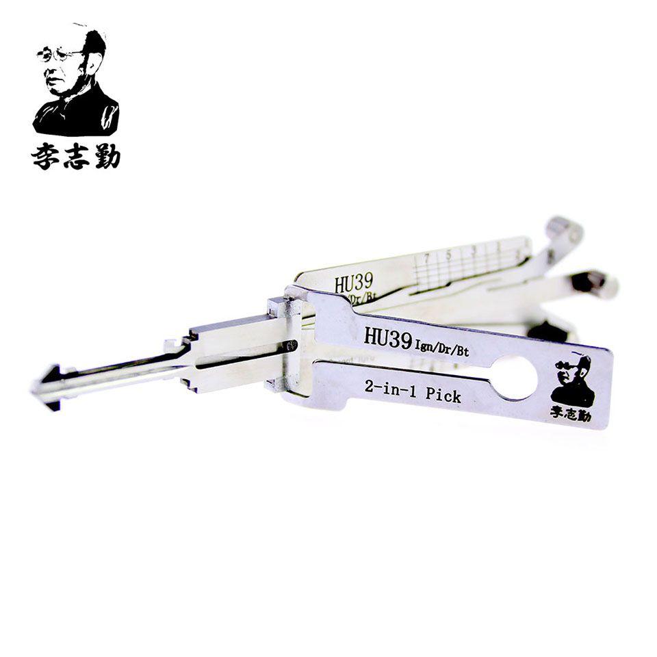 Mr. Li's Original Lishi HU39 2in1 Decoder and Pick - Best Automotive Locks Unlock Tools on the Market