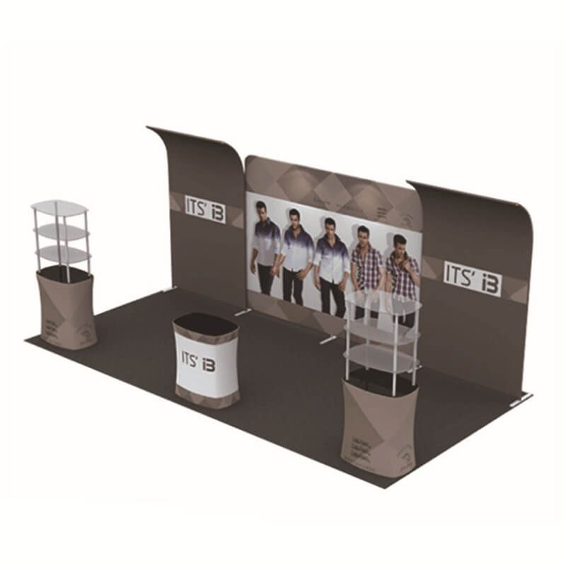 Fabric Exhibition Stand Mixer : Ft ft luxury tool free metal frame tension fabric tradeshow