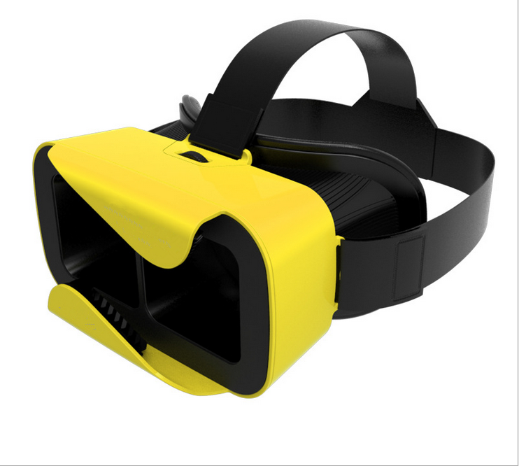 3D Virtual Reality Glasses,VR Box Headset, Google Cardboard Helmet for 4.7 - 6.0 inch Smartphone