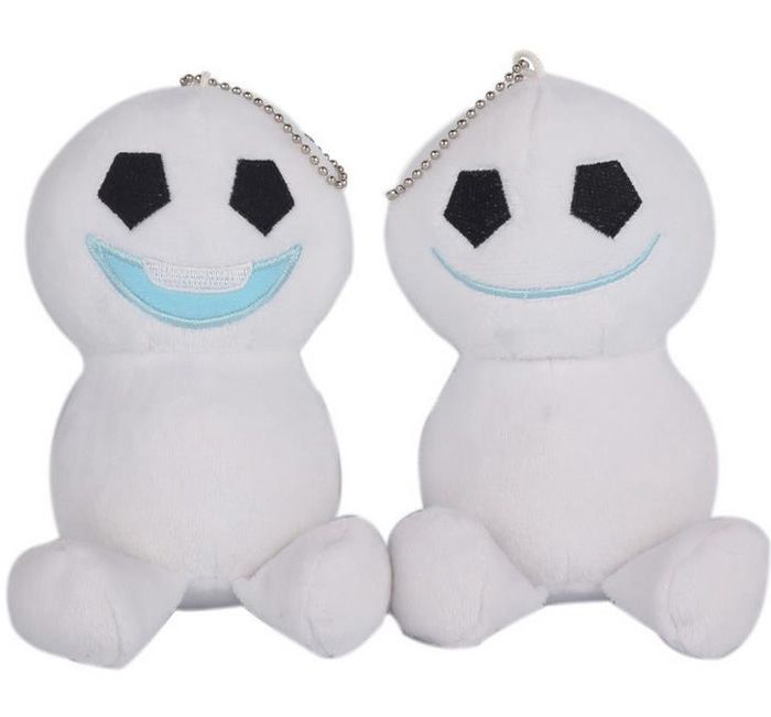 20pcs Fever Olaf Snowgies the snowman keychain plush toys stuffed dolls lovely olaf