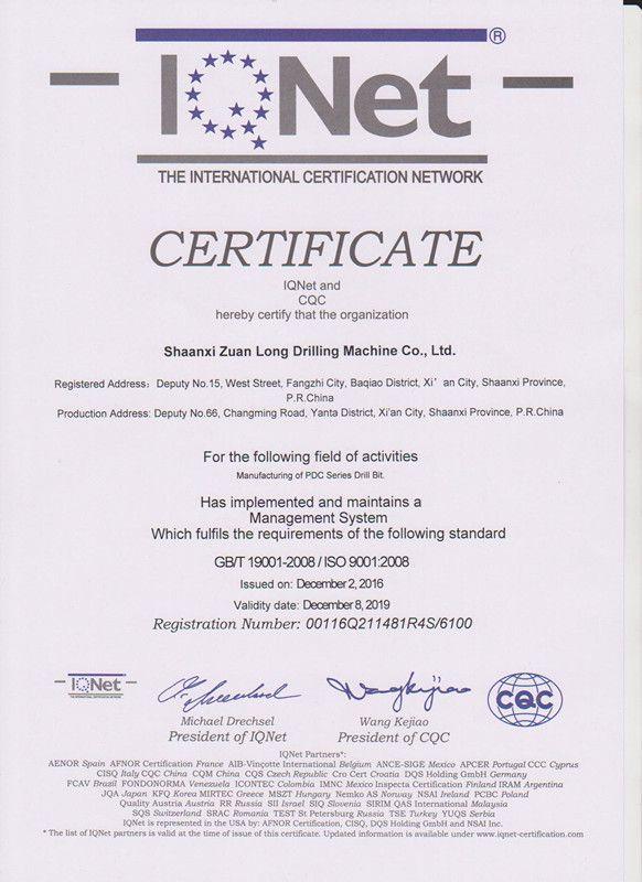 Coal Mining Geological Exploration Long Life PDC Core Bit
