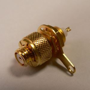 Miniature Rotate Self-Locking Female Panel Connector