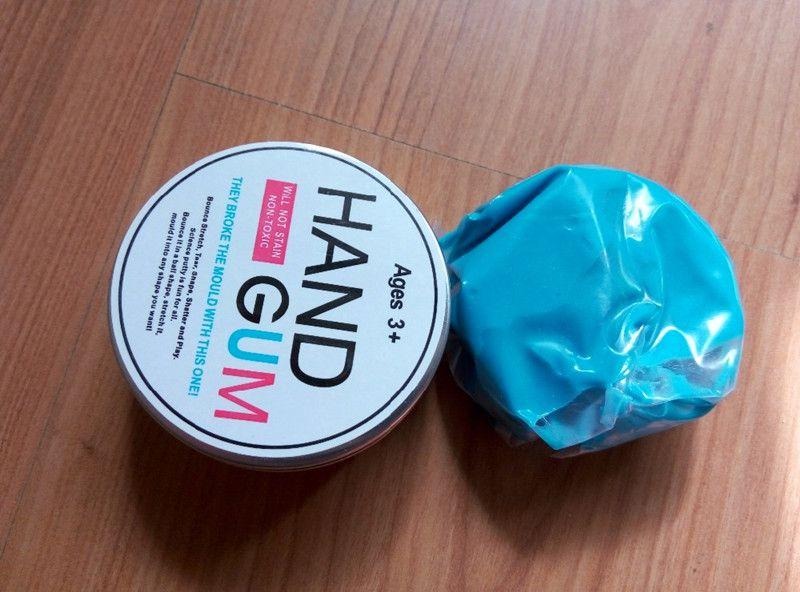 Handgum Noctilucent Luminous Thinking Putty Intelligent Creative Hand Gum Temperature Change Turns Color Slime Magnetic Toys Plasticine Mud
