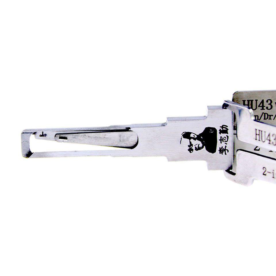 Mr. Li's Original Lishi HU43 V.3 2in1 Decoder and Pick - Best Automotive Locks Unlock Tools on the Market