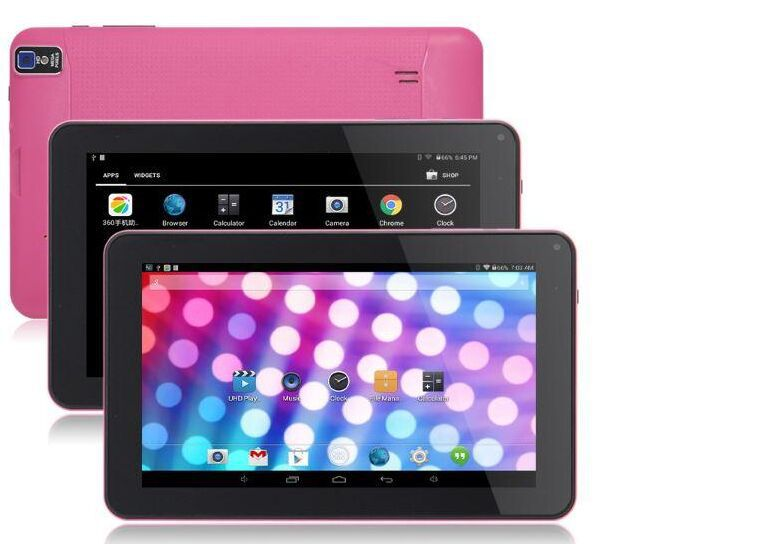 9inch quad core HDMI Android 4.42 Tablet PC 512MB 8GB 1.5GHz Allwinner A33 Bluetooth Ebook Reader