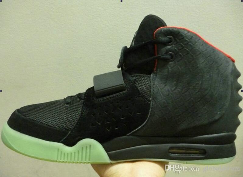new style fb108 1af94 Perfect Kanye West shoes Red October Black Solar Red Men ...
