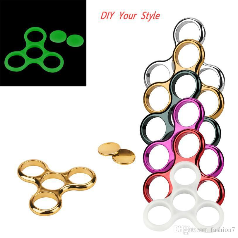 fidget hand spinners shell frame metal spinner fidget spinners hand finger focus ultimate spin toys for autism and antistress#XT