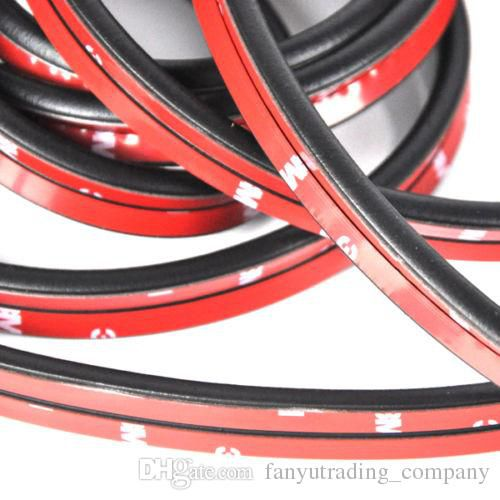 8M Big D Shape Car Door Window Trim Edge Moulding Rubber Weatherstrip Seal Strip To prevent scratching Free Shipping