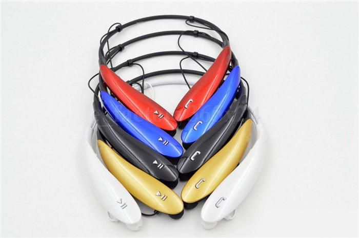 Tone Ultra HBS-800 HBS 800 Sports Stereo Bluetooth Wireless Headset Earphone Headphones with retail box DHL colorful neckband HBS800