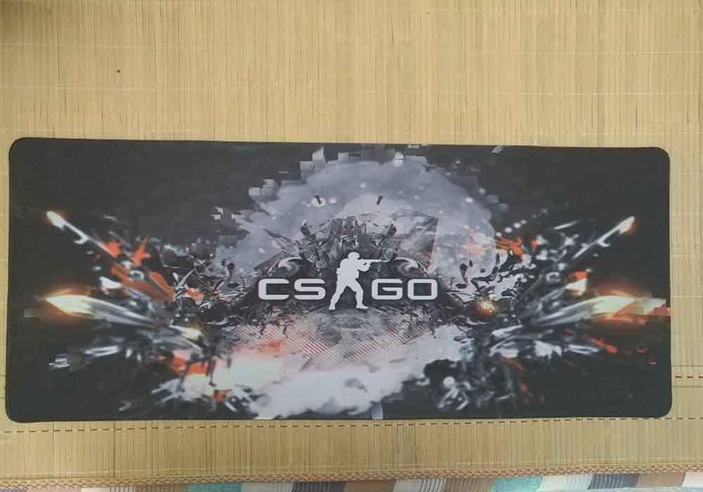 CSGO Mouse Mat 900 * 400 Mm Large Gun Shooting Speed Locks The Keyboard Pad Rubber Edge Game Mouse Pad Mat