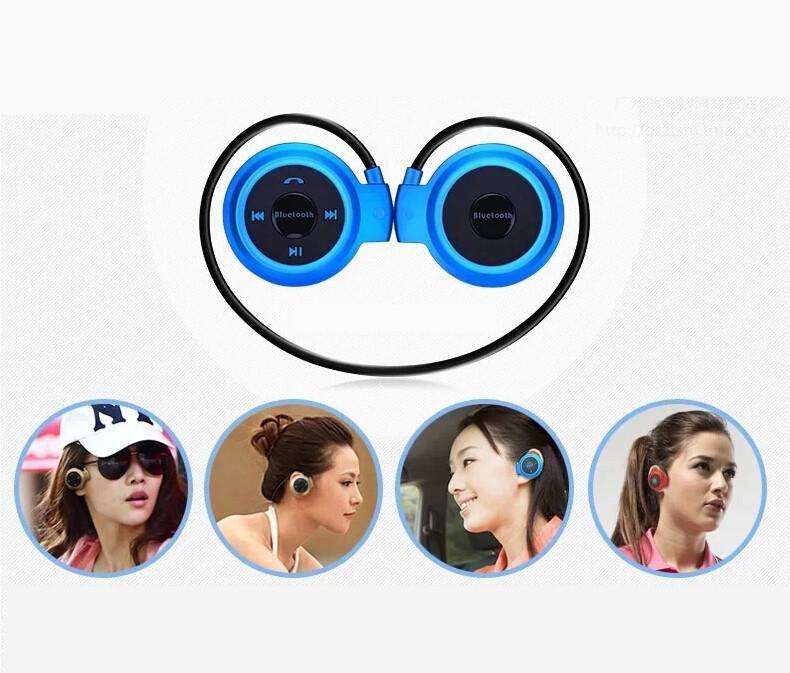 Mini 503 Wireless Bluetooth Stereo Headphone Handsfree Sports Music in-ear Earphone Headset for Iphone 6 5S Ipad Samsung S4 S5 HTC LG US03