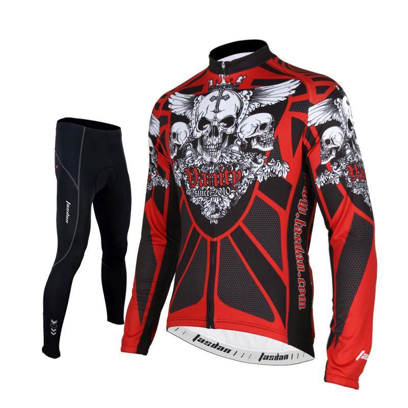 f78dce568 Tasdan Cycling Jersey Sets 3D Slim Cutting Long Sleeve Mens Cycling Jerseys  Suit Cust.