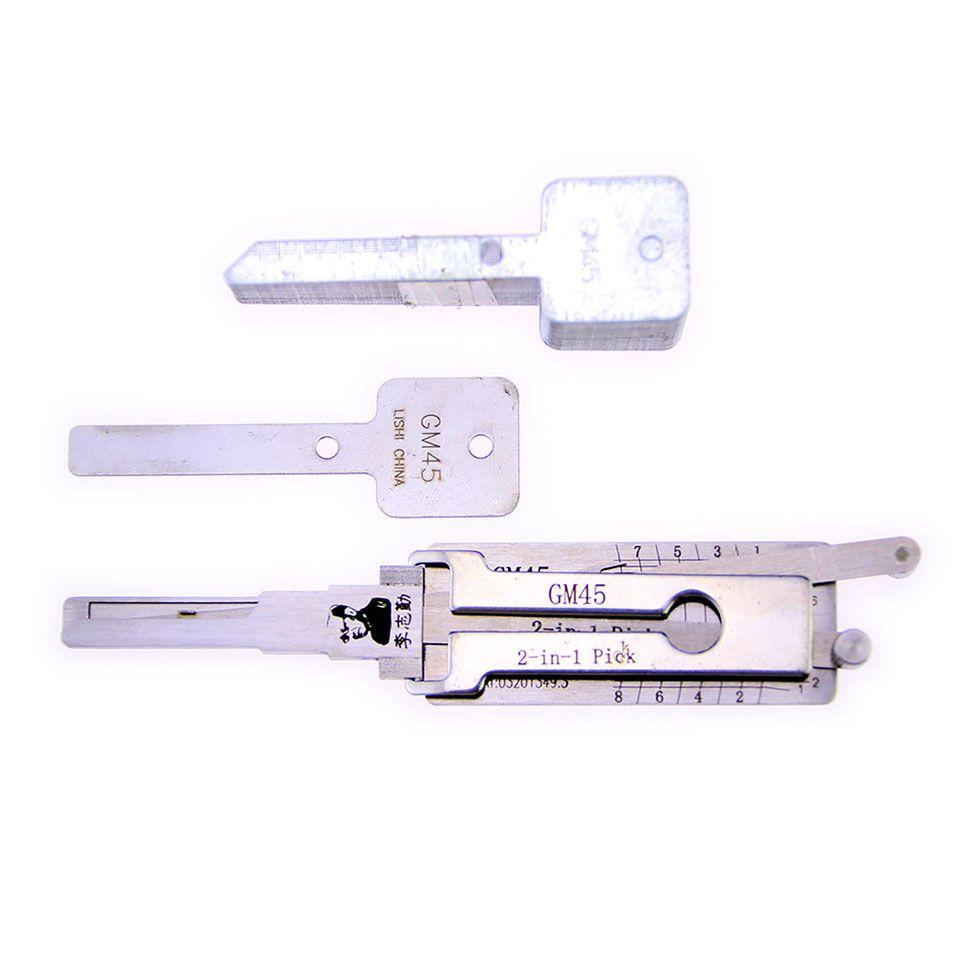 Mr. Li's Original Lishi GM45 2in1 Decoder and Pick - Best Automotive Locks Unlock Tools on the Market