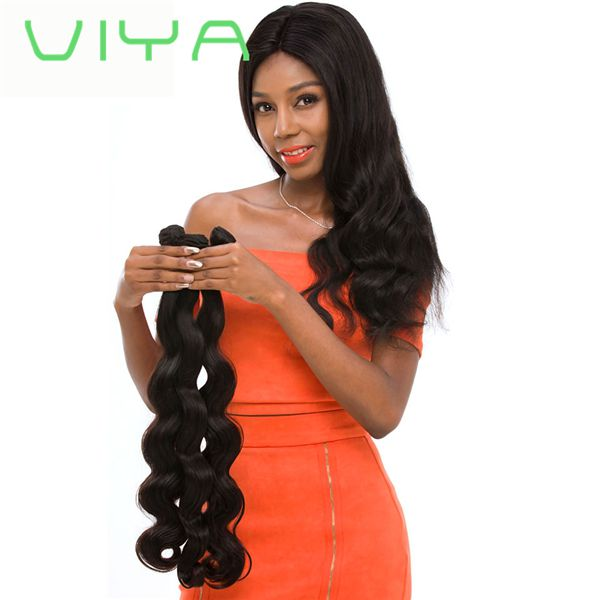 VIYA Brazilian Hair 3 Bundles Virgin Unprocessed Human Hair Brazilian Body Wave WY905D