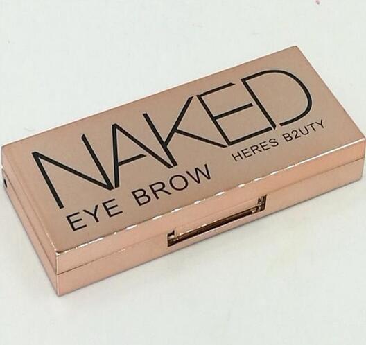 Makeup HERES B2UTY naked Eyes Eyebrow Enhancers 2 colors 4.2g DHL Free shipping+GIFT