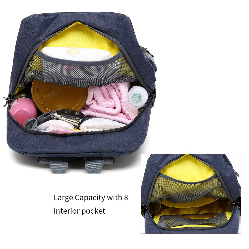 AUGUR New Fashion Mummy Bags Maternity Nappy Bag Large Capacity Baby Travel Diaper Backpack Designer Nursing Bag for Baby Care