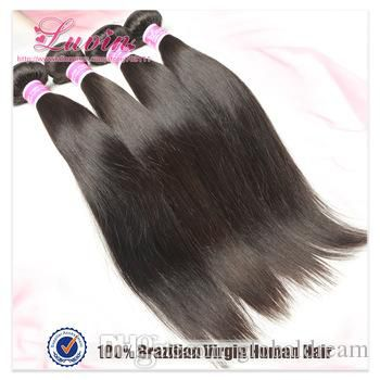 Hair Products Brazilian Virgin Hair Straight 3 PCS Lots 100% Unprocessed Human Hair Weft Weaves Cabelo Free Shipping