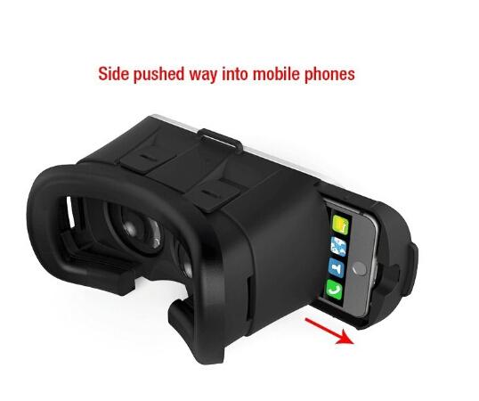 VR Box 2.0 + Gamepad Virtual Reality 3D Glasses Google Cardboard Helmet VR BOX Headset for 3.5 - 6.0 inch Smartphone
