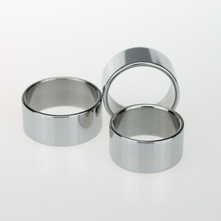 Hot sales 26mm/28mm/30mm Stainless steel Penis Rings Male Cockrings Delayed Ejaculation Adult Products Metal Sex toys