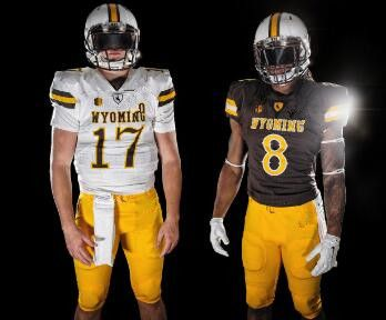 timeless design 12c73 15e12 2019 NEW Wyoming #17 Josh Allen Jersey 100% Stitched size S ...