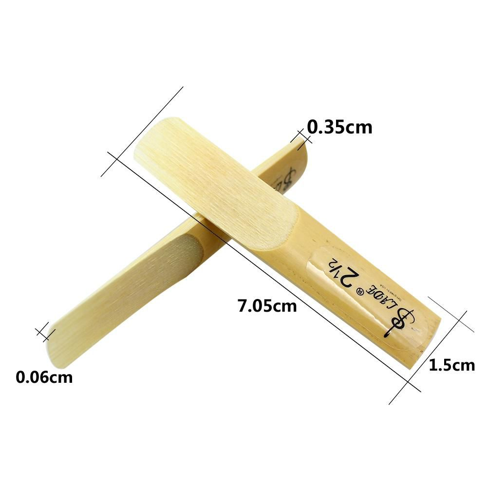 Lade 10pcs Tenor bE Saxophone Reed Strength 2.5 2-1/2 Reed Bamboo HIGH QUALITY order<$18no track