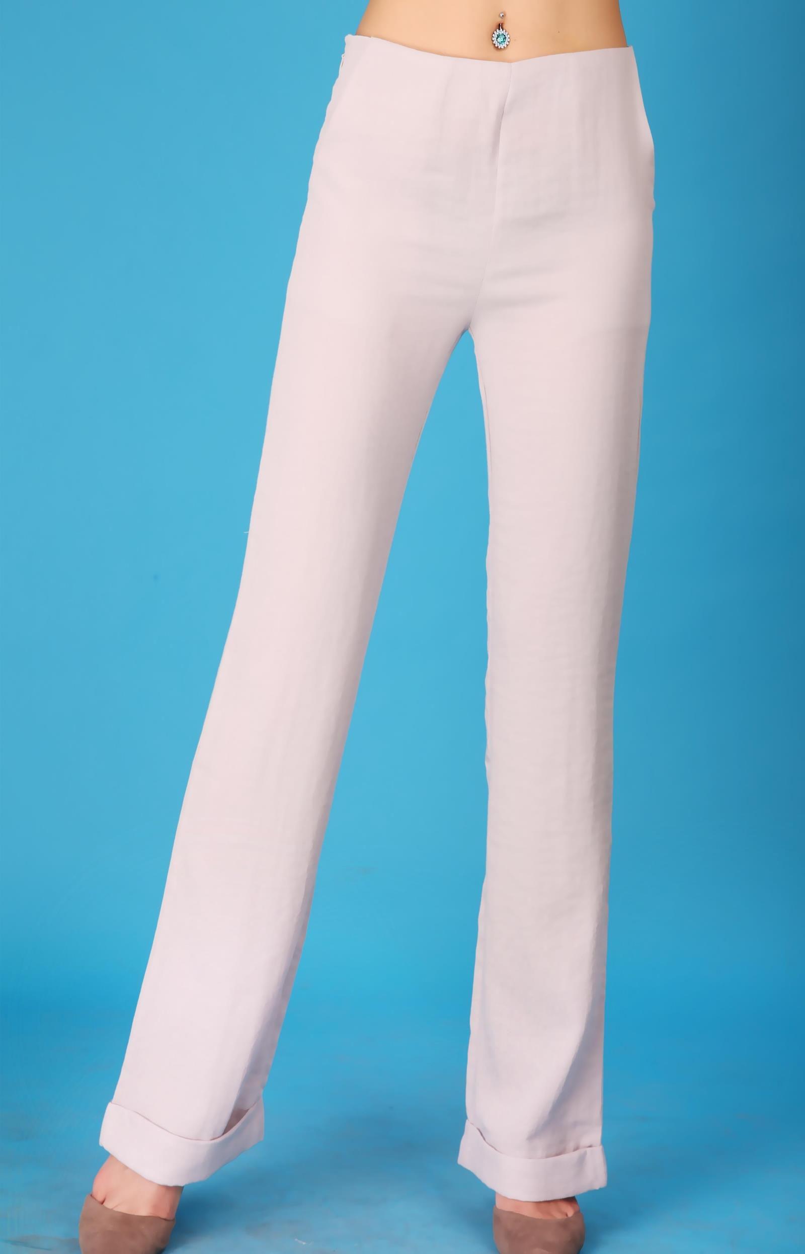 Folk style pants