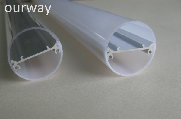 PC Pipe Extuded Alu Inside 600-1500mm IP65 T8 LED Tube Waterproof Anti Crushing for Underground Cold Storage Basement