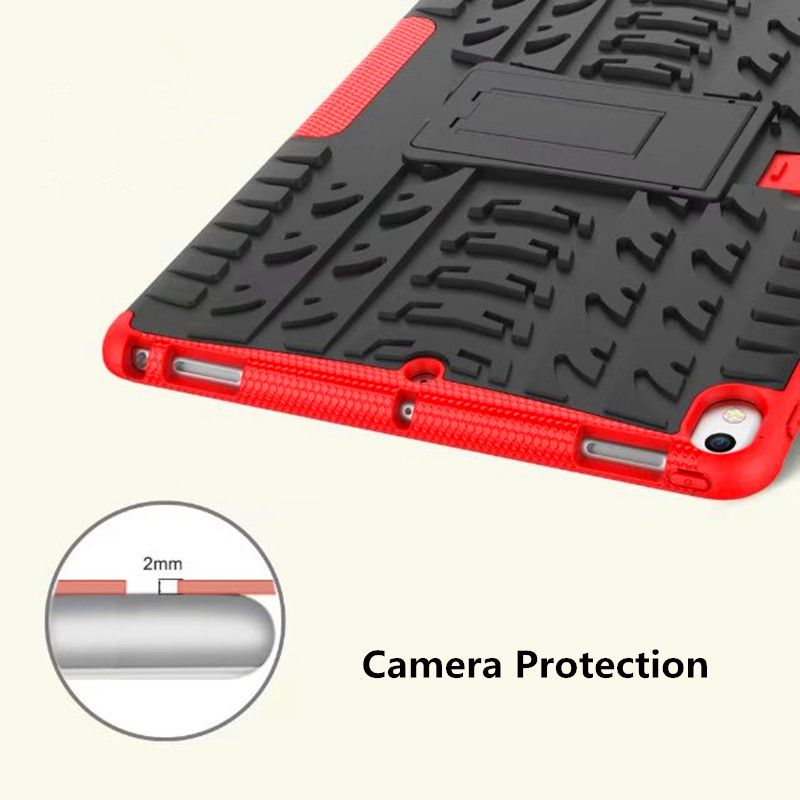 For New iPad Pro 10.5 inch Case Armor Rugged Shockproof Heavy Duty Kickstand Protective Cover Case