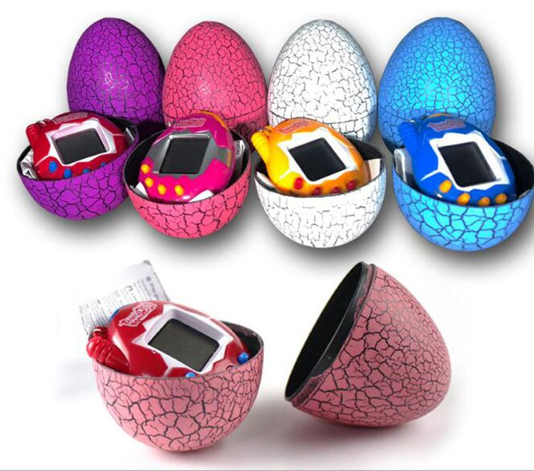 Tamagotchi Tumbler Toy Perfect For Children Birthday Gift Dinosaur Egg Virtual Pets on a Keychain Digital Pet Electronic Game