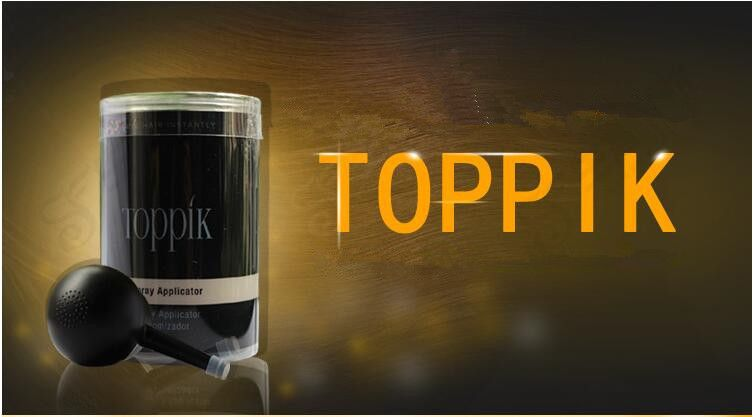 new toppik hair spray applicator suitable hair building fiber bottle Hair Styling Tools effective loss people