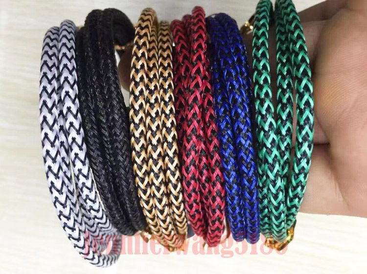 New Hot Sale 3FT 6FT 10FT Micro USB Cable Braided Fabric Charging Cables For S7 Edge S6 Edge LG Smart Phones In Stock