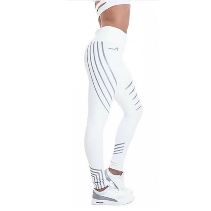 20512b00254f49 2019 New Fashion Women Yoga Pants Sports Running Sportswear Stretchy  Fitness Leggings Seamless Tummy Control Gym