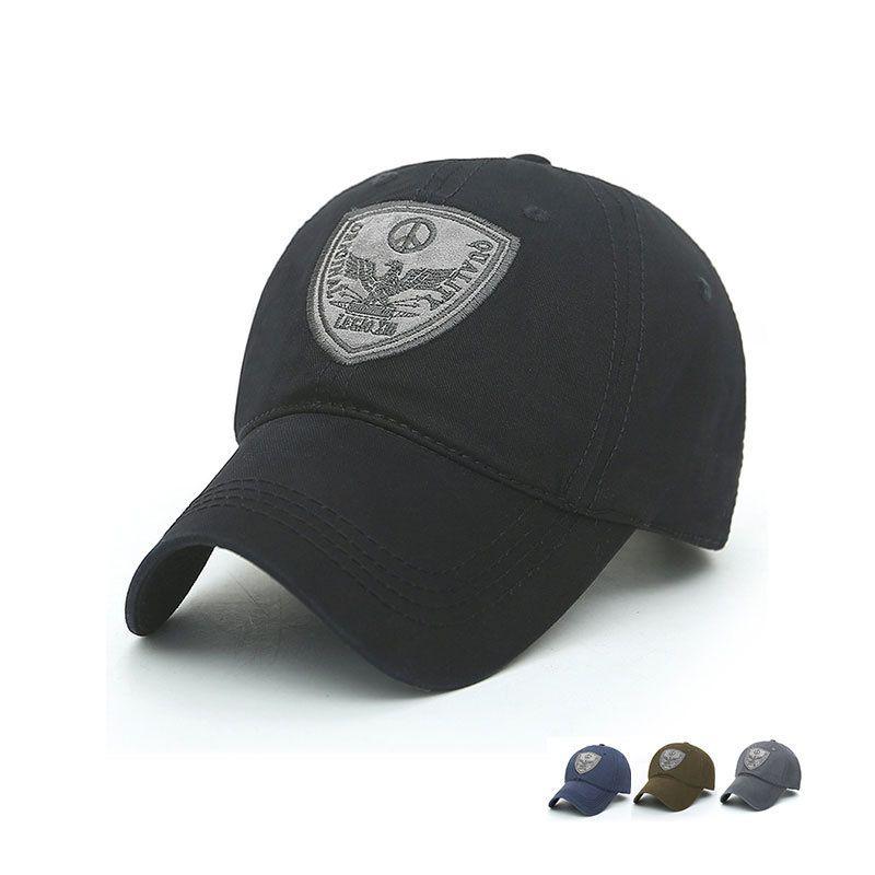 f224751e556 2018 summer hot sale Adjustable Outdoor Sports Sun Hat Outdoor Men Baseball  Golf Hip-hop