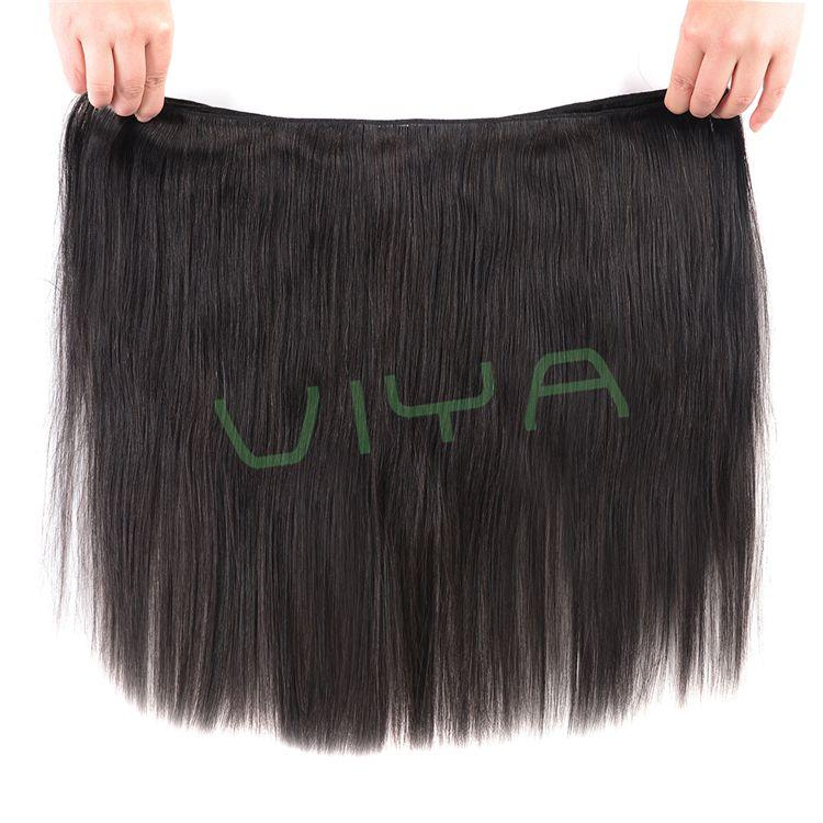 VIYA Brazilian Virgin Hair Straight Hair Extension Unprocessed Human Hair Bundles Free Shipping 10-30 Inch 3 Piece WY0915B