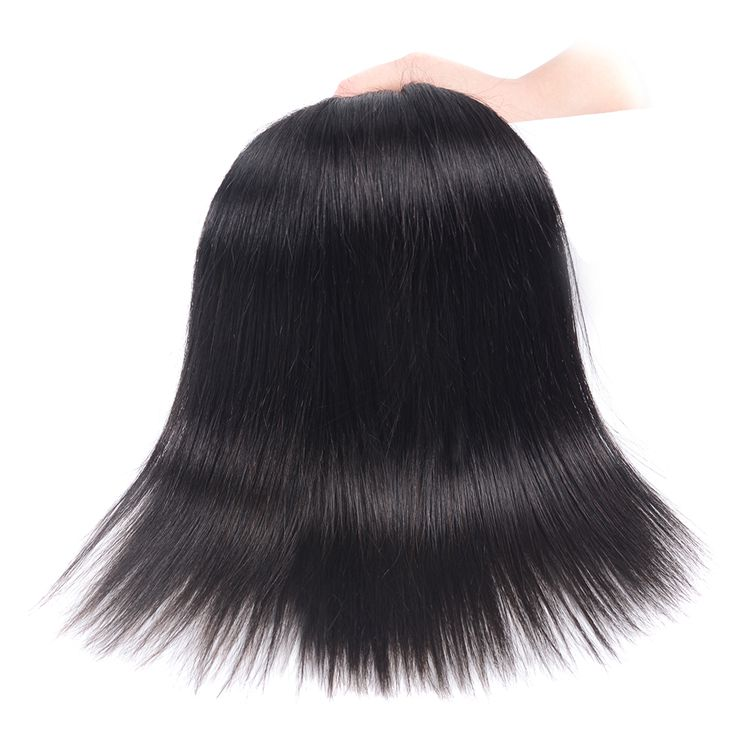VIYA Peruvian virgin hair Straight human hair bundles 100g 3Bundle hair extension natural black hair weave WE
